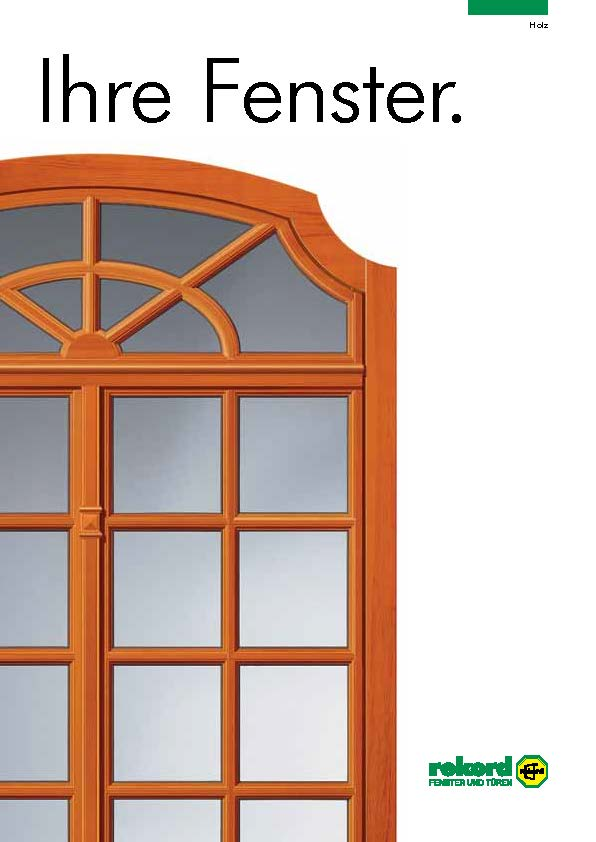 (c) rekord | Holzfenster